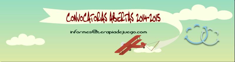 CONVOCATORIAS ABIERTAS 2014-2015