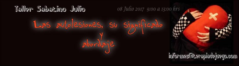 Taller Sabatino JULIO 2017