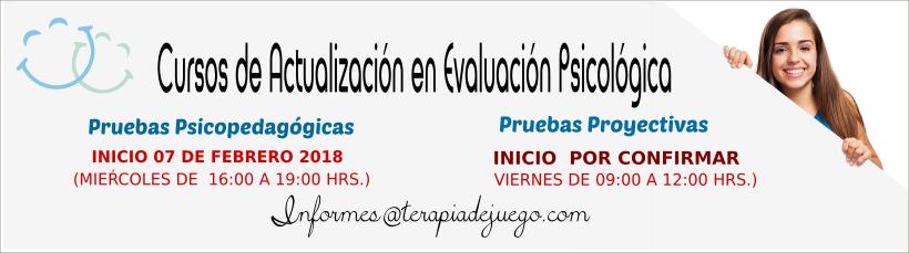 Cursos deActualización en Evaluación Psicológica 2018